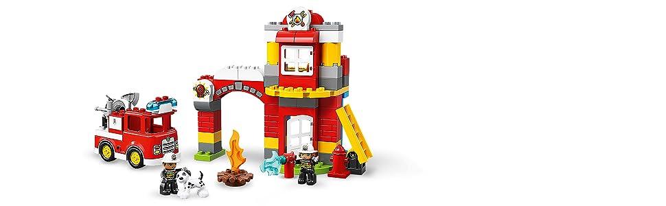 LEGO Duplo bleu Escalier pour maison ferme firestation