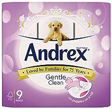 andrex;andrex toilet roll;andrex gentle clean;toilet roll;toilet rolls;toilet paper;moist wipes