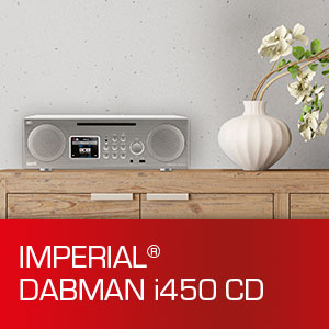 DABMAN i450 CD, IMPERIAL, DAB+, Smart Radio, CD, Streaming