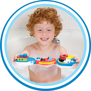 Toys, games, puzzles, activities, fun, boats, magnets, tugboat, fishing boat, speed boat