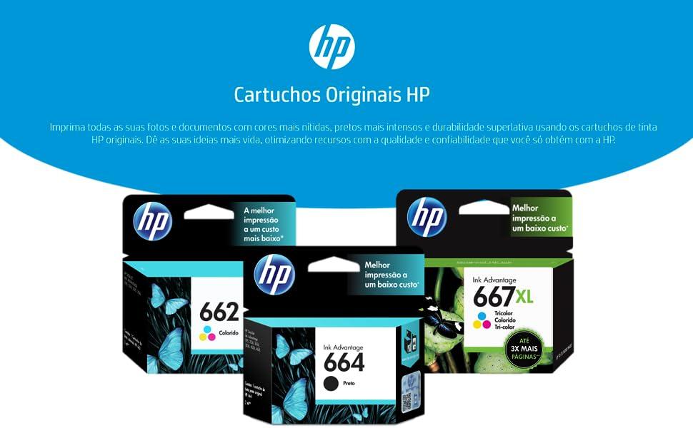 HP Cartucho de Tinta Original Supplies
