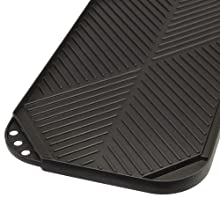 close up of ecolution reversible grill griddle