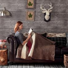 Bernat Blanket Knit Crochet Yarn Stitch