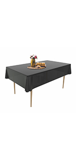 12 Pack Disposable Tablecloths