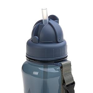 rosa L/ÄSSIG Botella de acero inoxidable para ni/ños Botella de agua A prueba de fugas Sin BPA//Botella de acero inoxidable Adventure Teepee