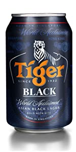 Tiger Black Lager Beer