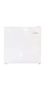 1.6 Cubic Feet Compact Refrigerator, White