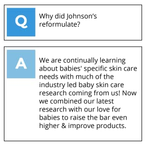 Why did Johnsons reformulate?