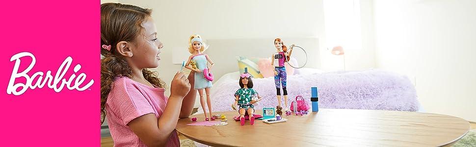 Scopri come prenderti cura di te con le bambole Barbie wellness