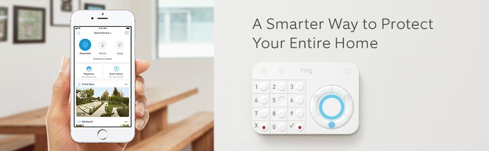 ring alarm phone screen keypad