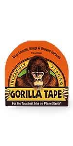 Gorilla Tape Black 11m
