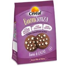 cereal, pan di stelle senza glutine, biscotti senza gluitne, buoni al cacao, biscotti senza zuccheri