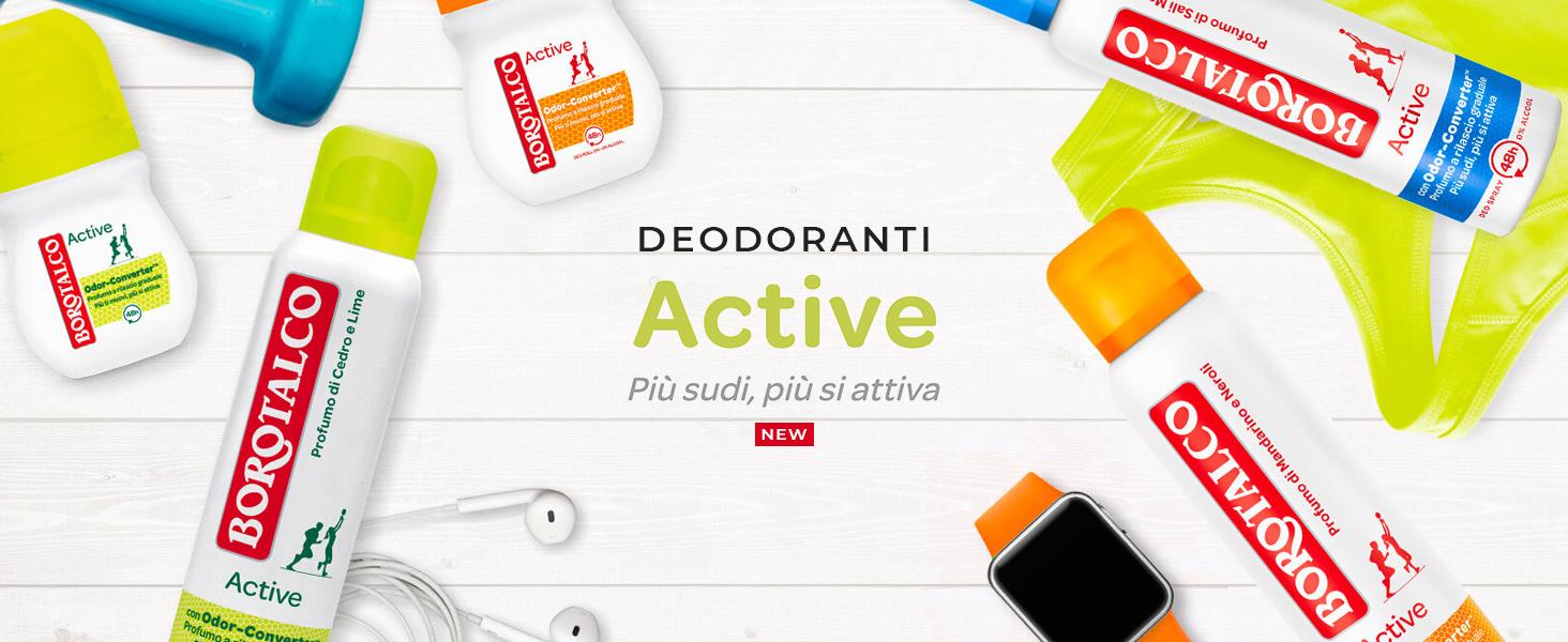 Borotalco, deo active