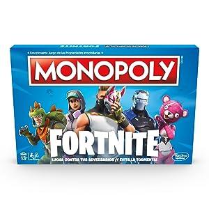 Monopoly Fortnite (Versión Española), multicolor, Talla Única (Hasbro E6603105): Amazon.es: Juguetes y juegos