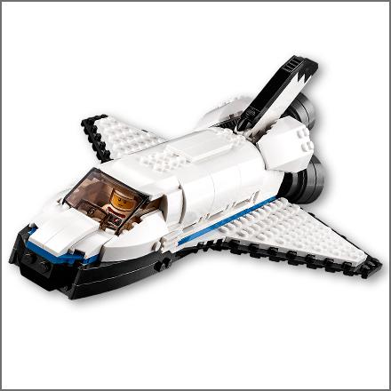 space shuttle explorer lego - photo #10
