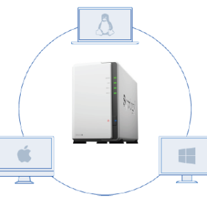 Synology DS220j 2 Bay Desktop NAS Enclosure: Amazon.co.uk ...