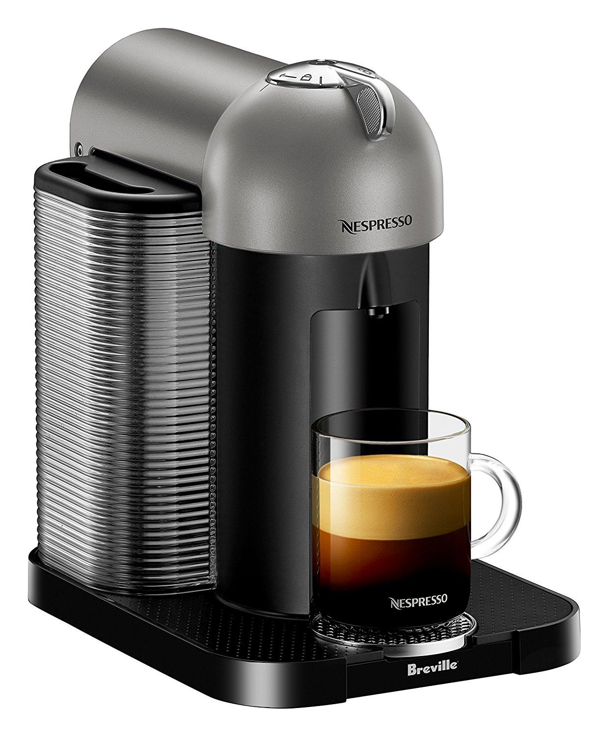 nespresso vertuo coffee and espresso machine by breville titan kitchen dining. Black Bedroom Furniture Sets. Home Design Ideas