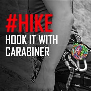 Hike, hook