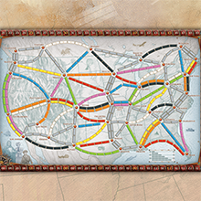ticket to ride map