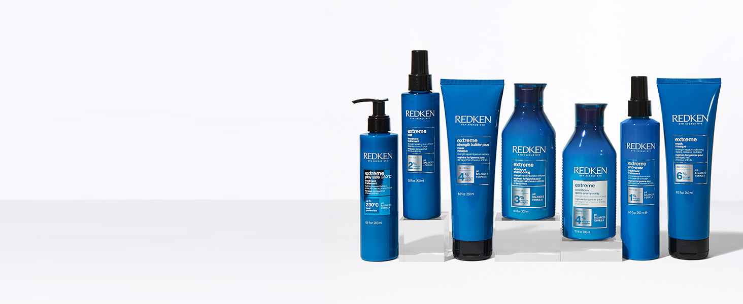 Redken Extreme Capelle Danneggiati Shampoo Balsamo Trattamenti