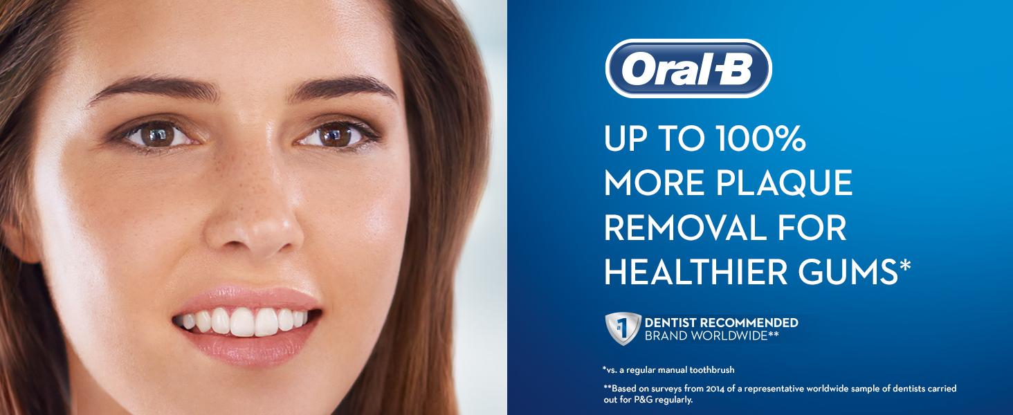 Oral-B Power PRO CrossAction 2500 Black Power Toothbrush