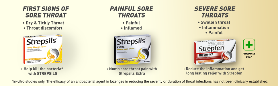 Sore throat;throat;soothe;mouth;infections;infection;soothing;lozenges;lozenge;Antibacterial