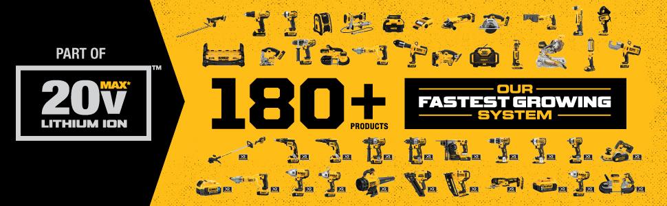 tools system, lithium ion tools, 20v lithium ion