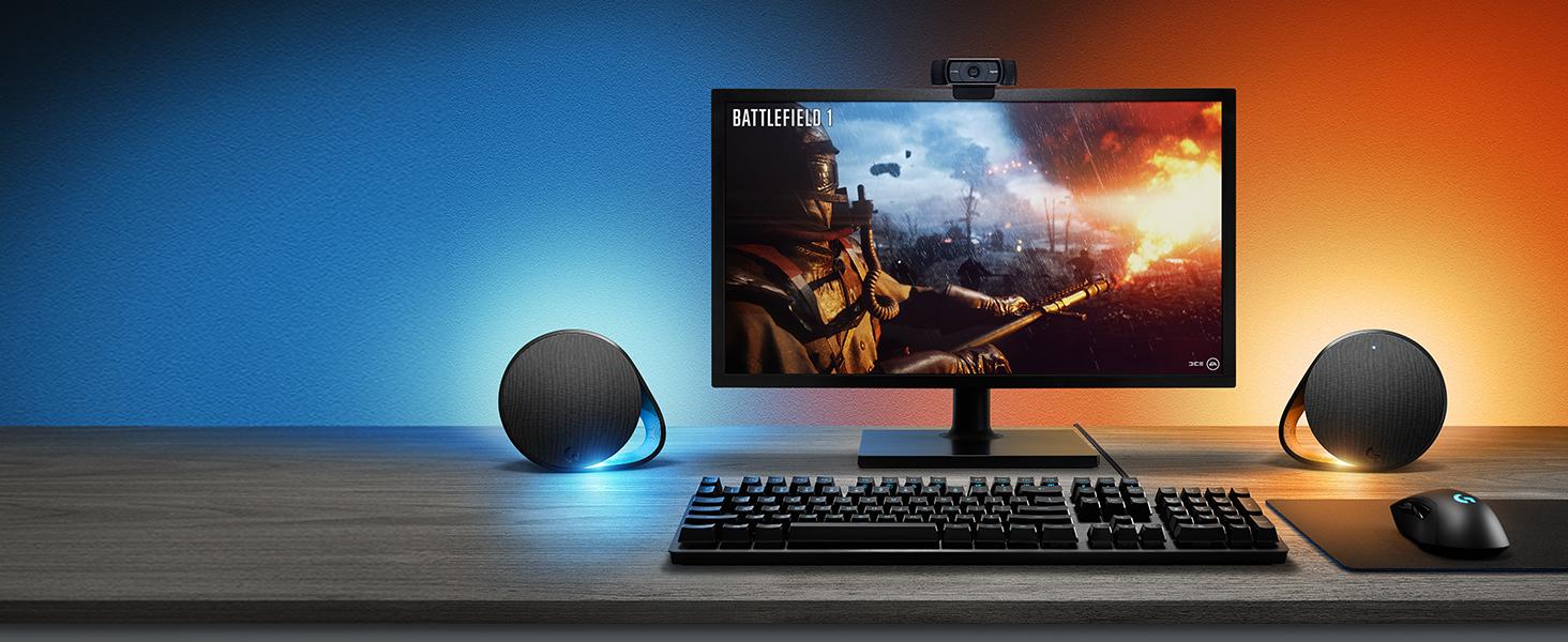 Amazon Com Logitech G560 Lightsync Pc Gaming Speakers