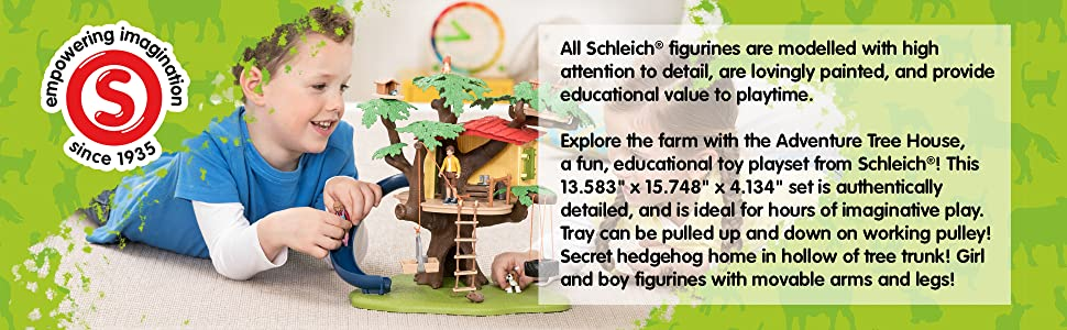 schleich, toys, figurines, educational gifts for boys, gifts for girls, playsets