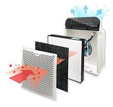 amazon com whirlpool whispure air purifier hepa air cleaner
