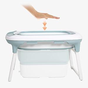 Babify - Vasca da bagno pieghevole