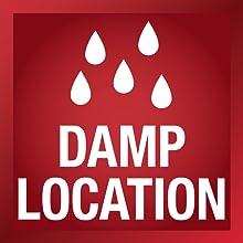 Satco Nuvo Damp Location