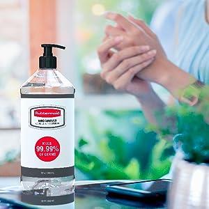 rubbermaid hand sanitizer