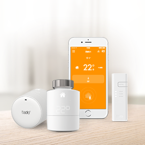 tado smartes heizk rper thermostat starter kit f r wohnungen mit heizk rper thermostaten. Black Bedroom Furniture Sets. Home Design Ideas