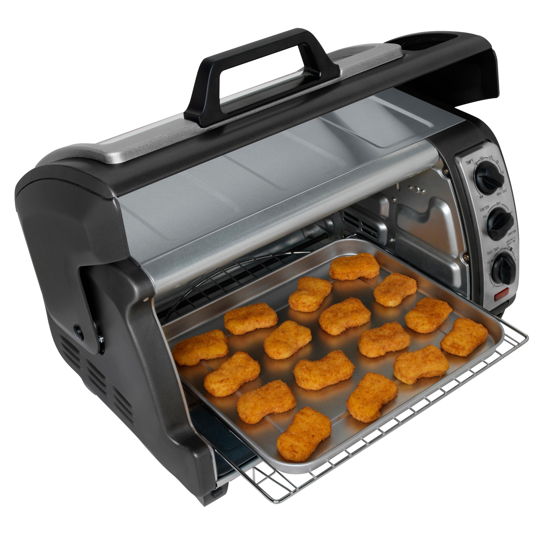 California Pizza Kitchen Virginia Beach: Hamilton-Beach 31126C 6 Slice Easy Reach Toaster Oven