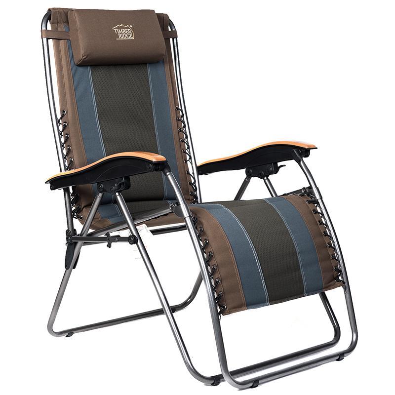 Amazon Com Timber Ridge Zero Gravity Patio Lounge Chair