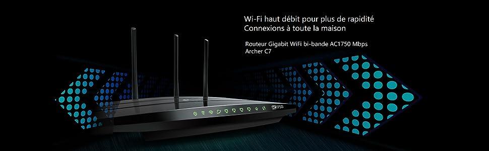 Routeur wifi archer C7