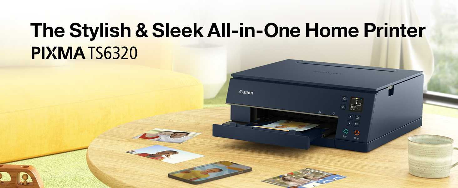 The stylish & sleek all-in-one home printer PIXMA TS6320