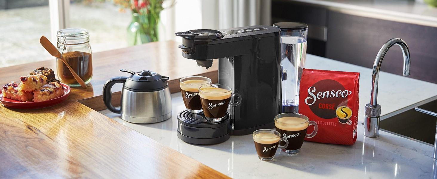 senseo switch noir machine café