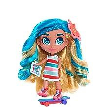 hairdorables, noah, skater, sk8r, blue hair, youtube show