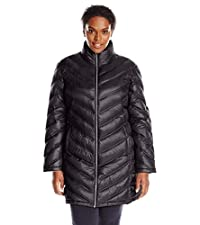 Plus Size Packable Coat