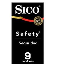 sico, condon, preservativo, condones, preservativos, sico safety, seguridad, condon seguro