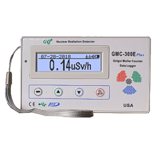 GQ GMC-300E Plus Geiger Counter Nuclear Radiation monitor Data Logger