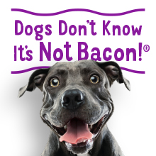 Dogs don't know it's not bacon
