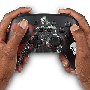 PowerA - Mando inalámbrico mejorado Overwatch Reaper (Nintendo ...