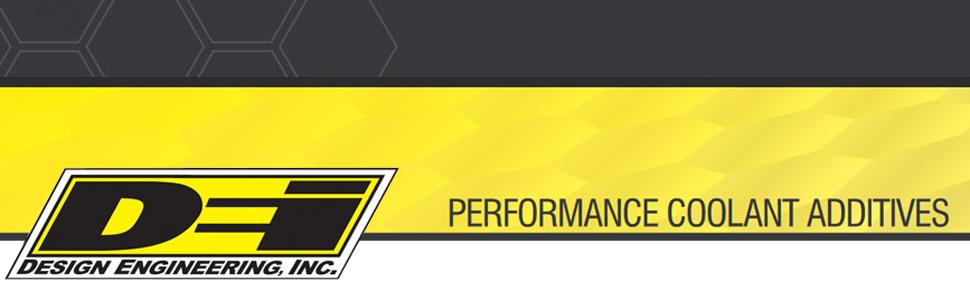 design engineering performance coolant additive