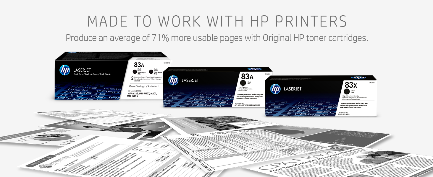 Amazon.com: Cartuchos de tóner para HP 83A Laser Jet ...