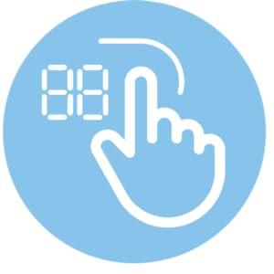 Sensor Touch Control,Midea Built in Hob,Built in Ceramic Hob,Builtin Electric Stove,Counter top Stov