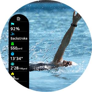 perfekt schwimmen schwimmzüge messen