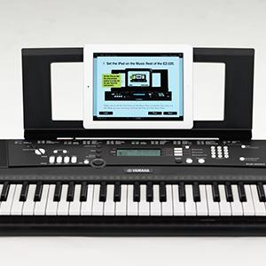 YAMAHA EZ-220 - Teclado digital portátil de iniciación, con ...
